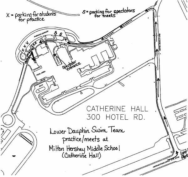 Swimming Milton Hershey School Layout