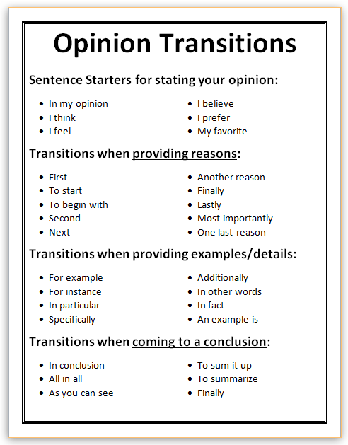 Transitional Words and Phrases in Fiction: 4 Writing Tips