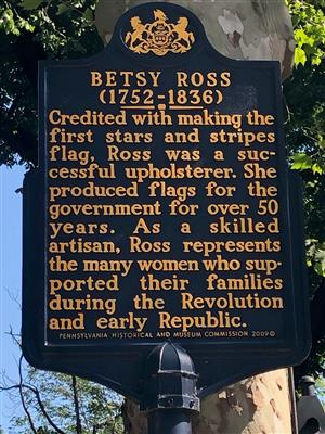 4th Graders can visit The Betsy Ross House in Philadelphia.